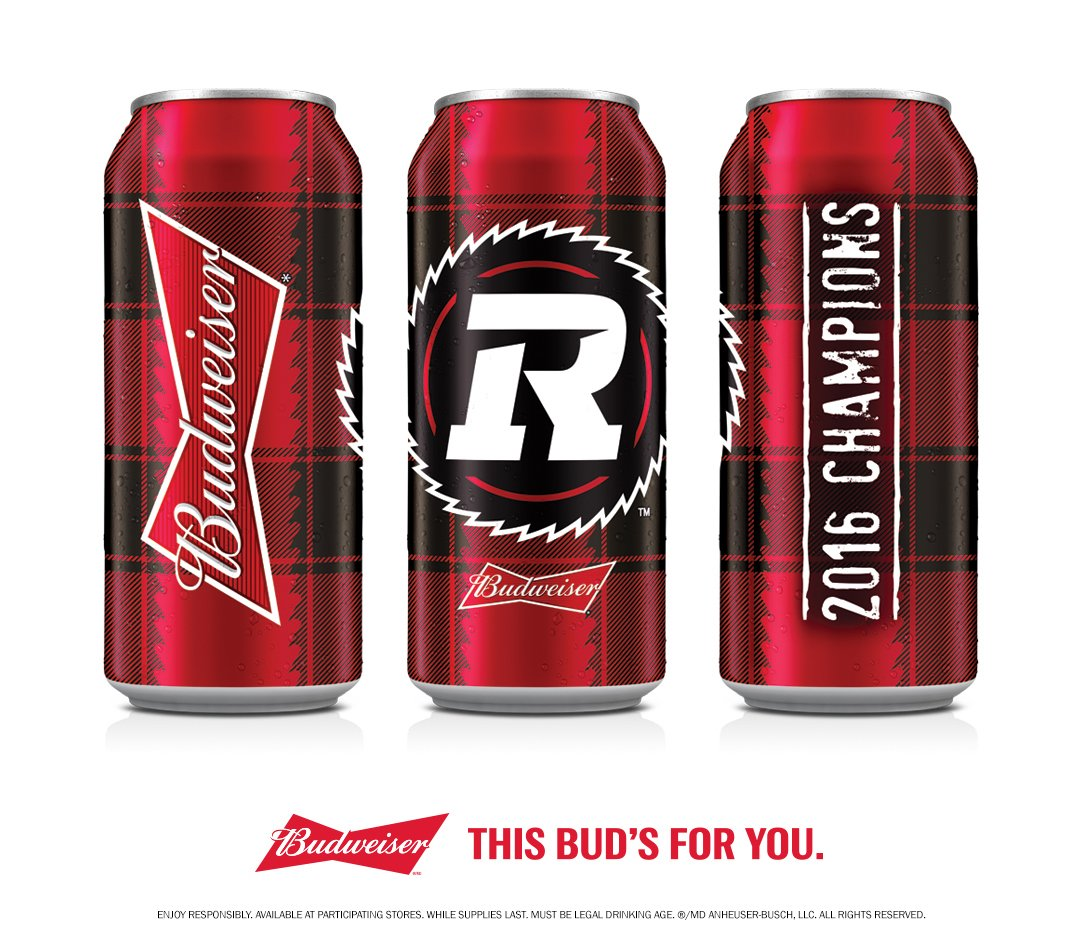 Just in time for #CFLKickoff!  Celebrate the #REDBLACKS season opener...