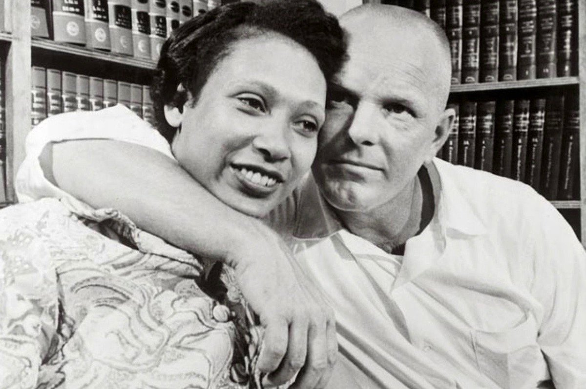 Supreme Court, in Loving v. Virginia, ended bans on interracial marriage, 50 years ago this week (Mildred and Richard Loving):  #Getty