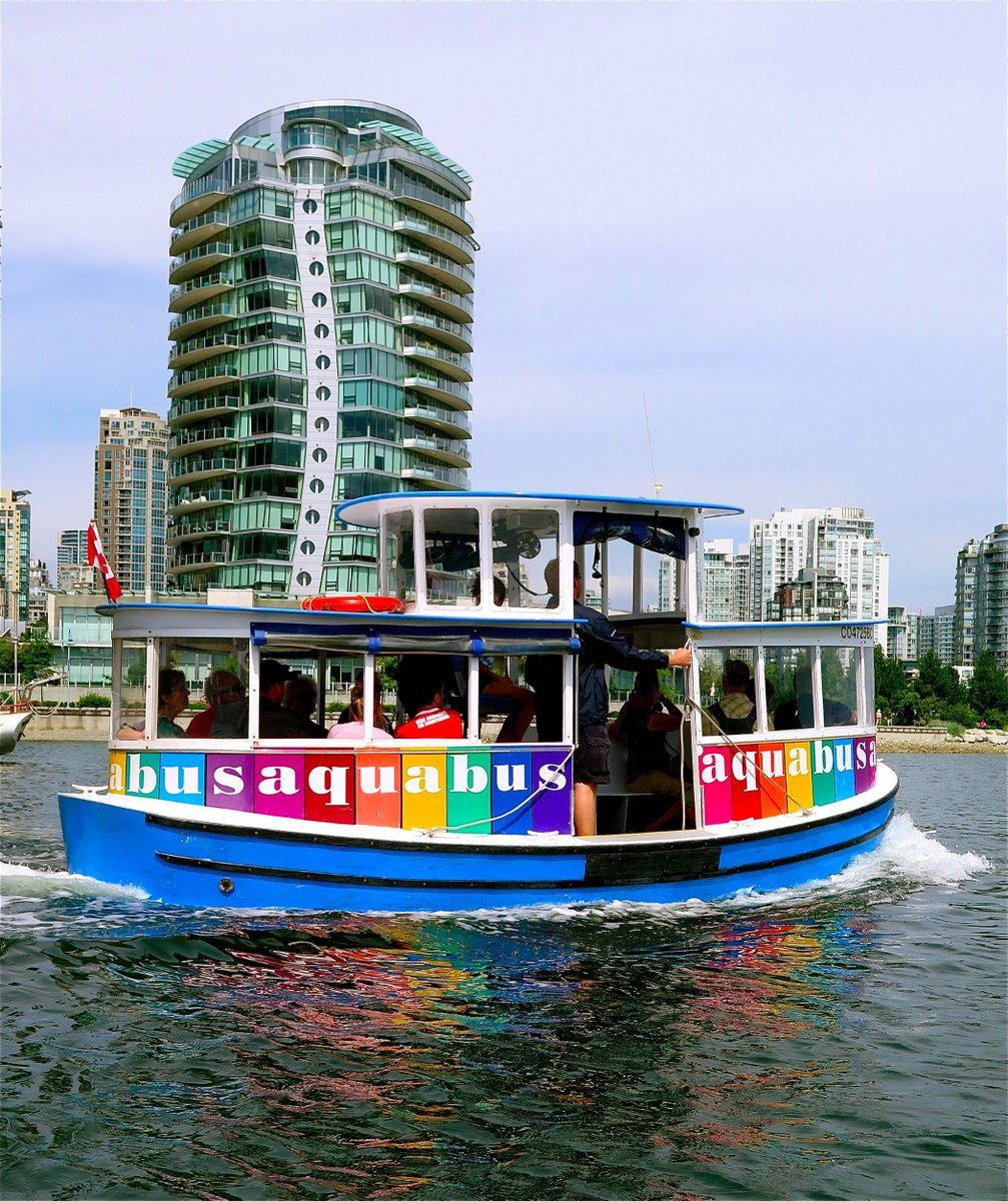 Nice day to hop on an Aquabus in #Vancouver's False Creek #lp https://t.co/zdgvjVs6Bp