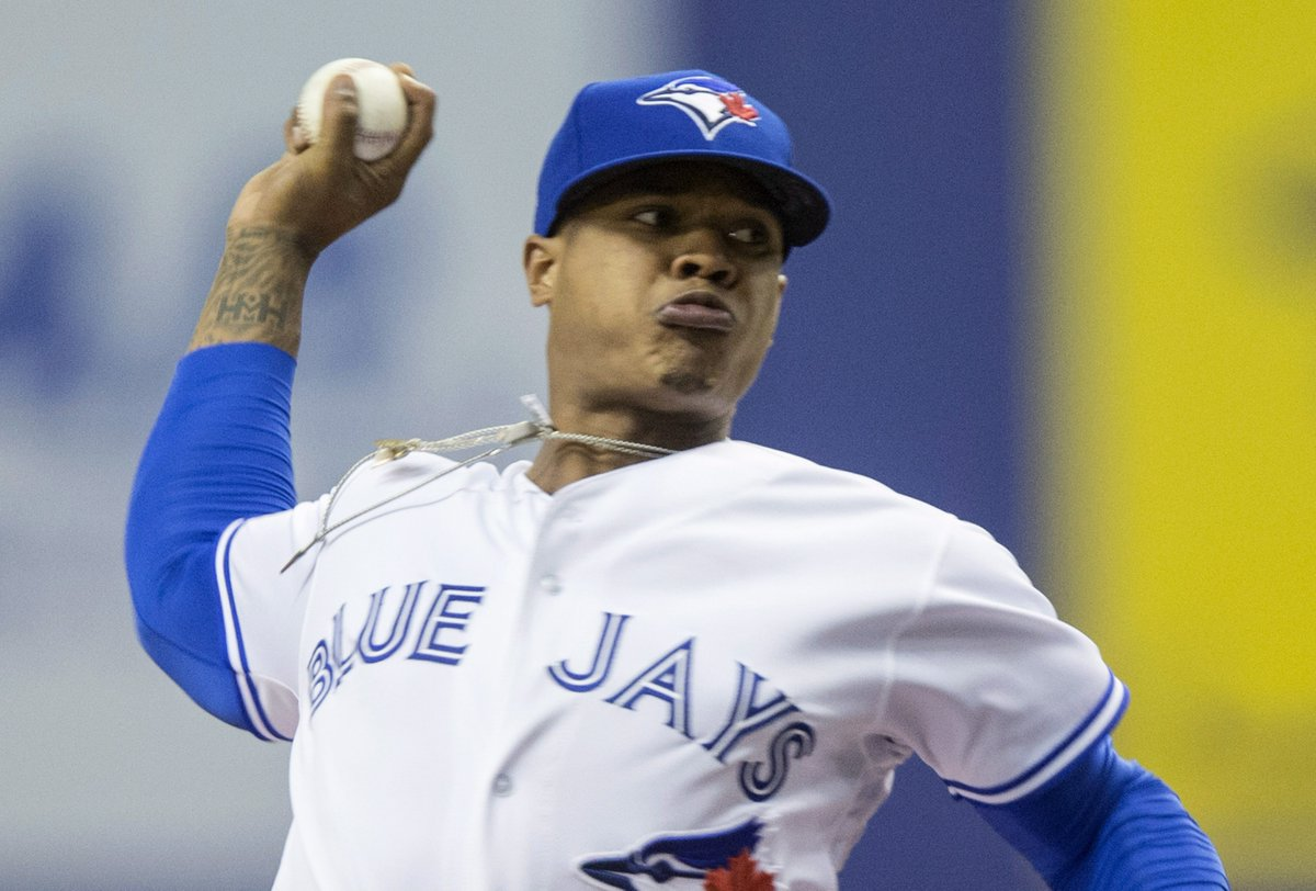 47089df76f7 Follow along with Marcus Stroman and the  BlueJays in Seattle with our new  live tracker