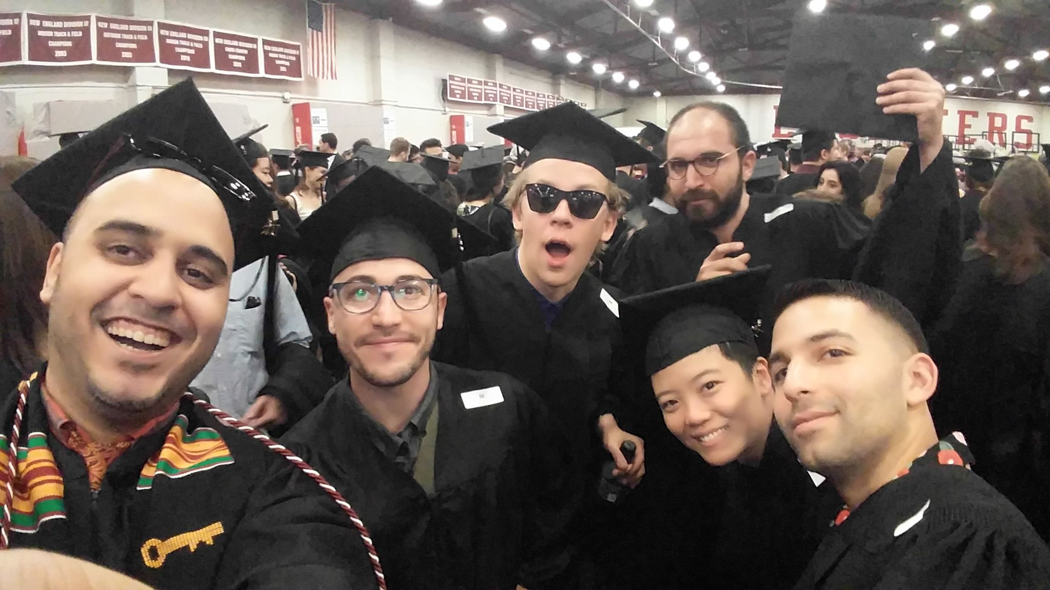 Congratulations to an amazing group of grads!!! Photo cred: @ronmartinACT #MIT2017 @mitcommencement https://t.co/iuyTIuBLSa
