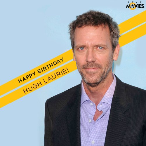 Happy Birthday to the Doctor himself, Hugh Laurie.