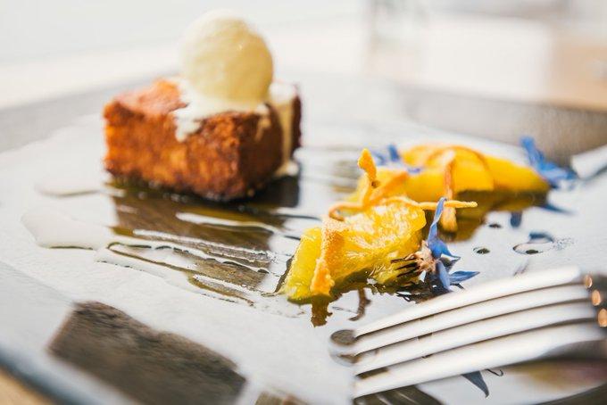Orange and almond polenta cake