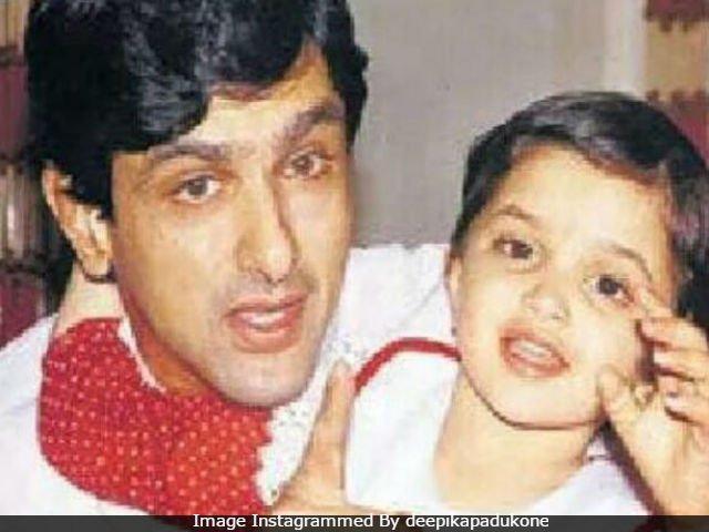 Deepika Wishes Happy Birthday To Dad Prakash Padukone With This Cute Pic