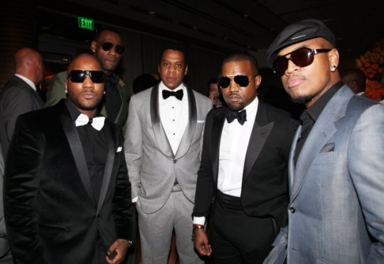 Dope Boys Of The Year Drinks Is In The House On Twitter Jay Z Young Jeezy Lebron James Kanye West And Ne Yo Photographed At Hov And James Fifth Annual Two Kings Dinner
