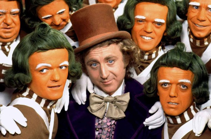 Happy birthday to the great Gene Wilder, he would have been 84 today.