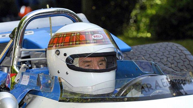 Happy Birthday Sir Jackie Stewart: Matra MS80 at (Photo: