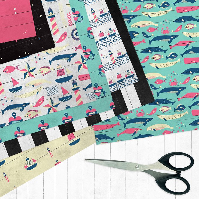 Nautical digital clipart. Sea clip art. Summer Beach Clipart. Sailing Waves Anchor Clip Art. Marine Animals Vector Graphics. COMMERCIAL USE