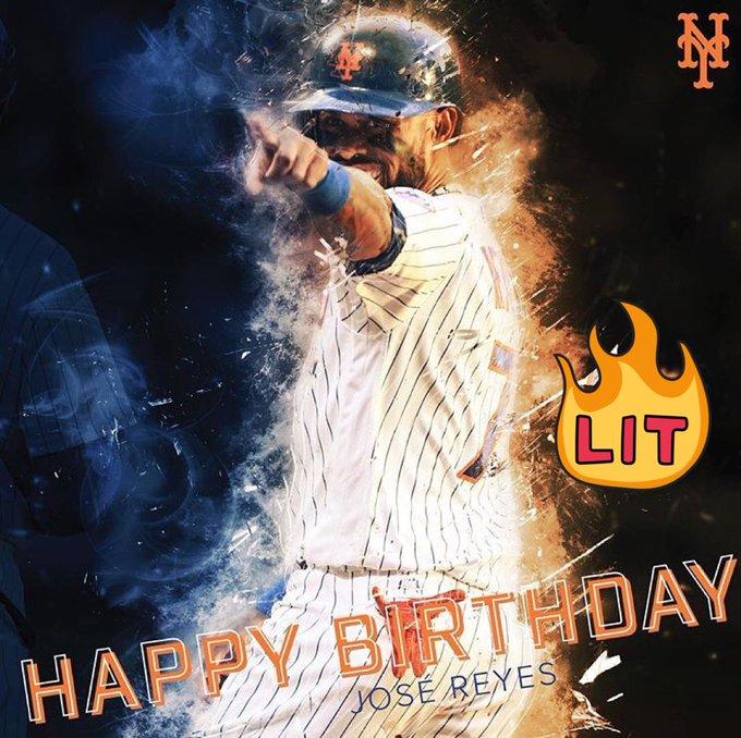Happy Birthday Que cumplas muchos mas!! Jose Reyes All Day