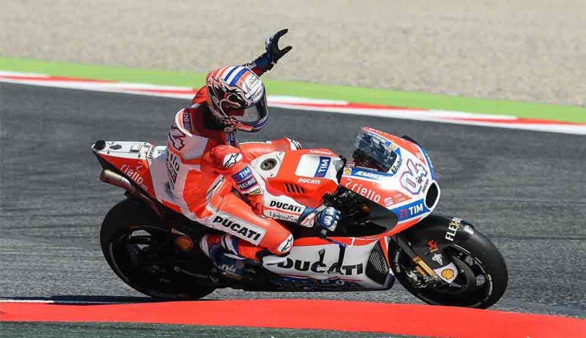 MotoGP: Dovizioso trionfa anche nel Gp di Catalogna dopo la vittoria al Mugello