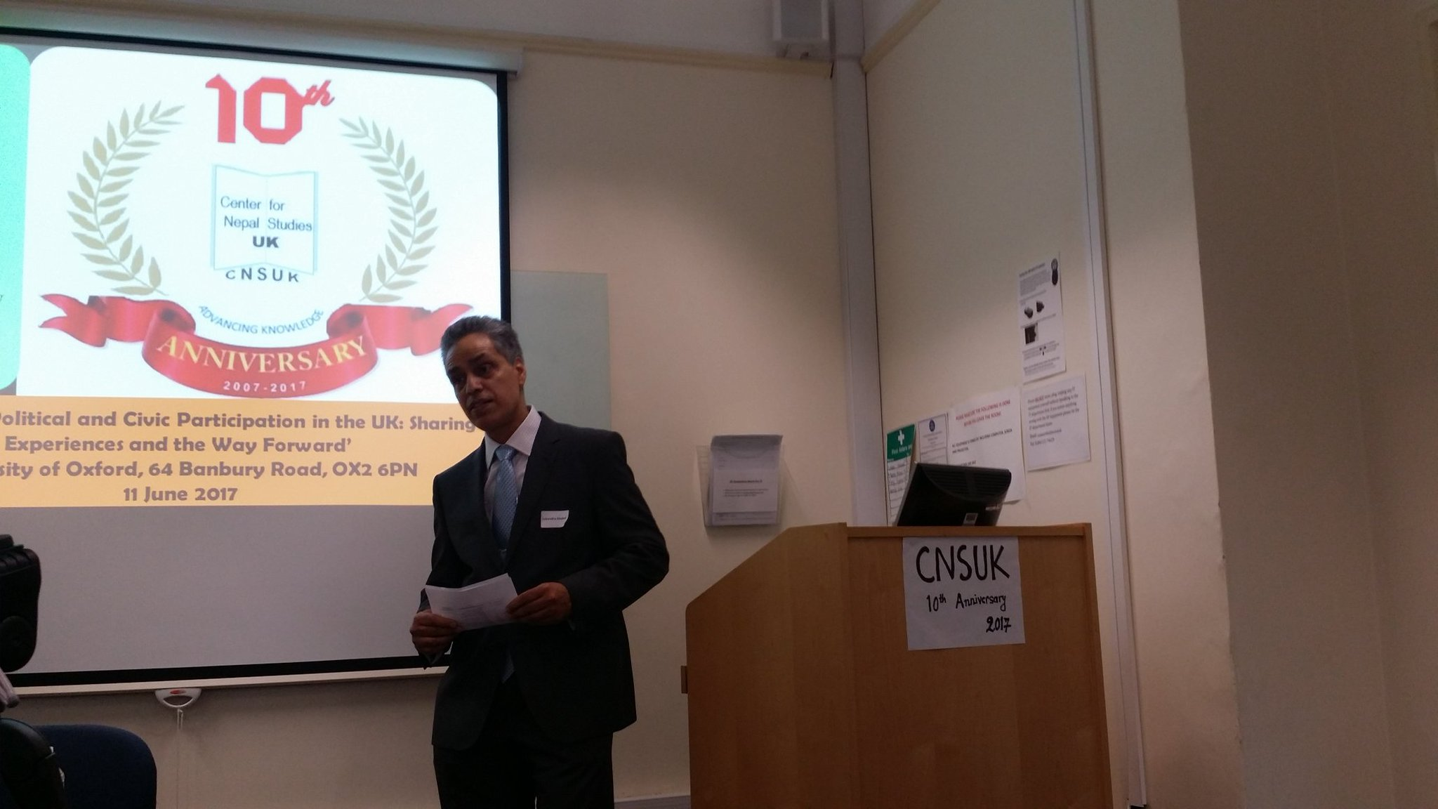 Welcome by Lokendra Dhakal #CNSUK10 https://t.co/ysyp3oq0YD