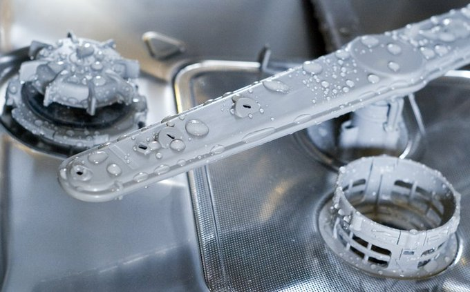 How to degunkify the bottom of your dishwasher — no tools needed!