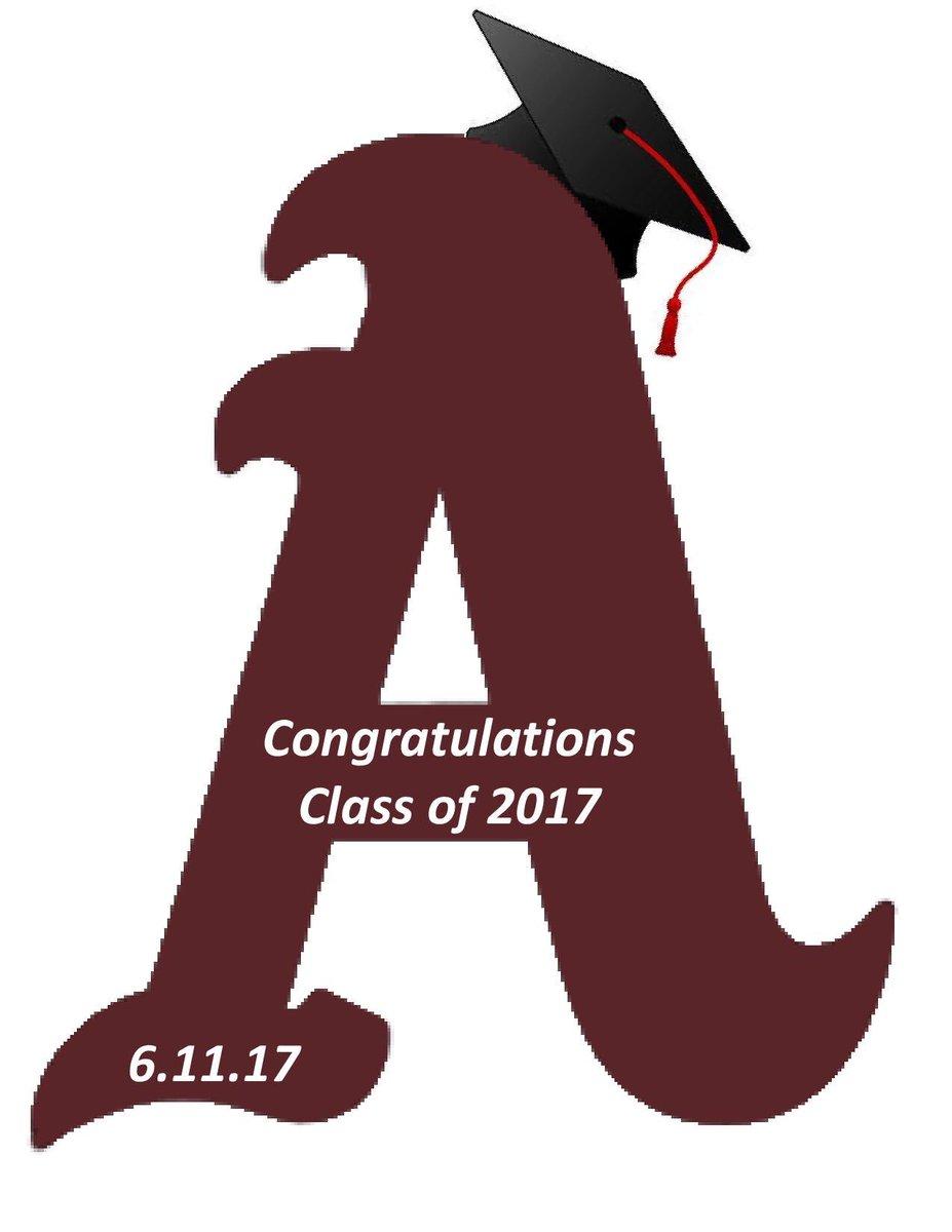Congratulations Class of 2017! Graduation day! #AppoPride #AppoSchoolDistrict