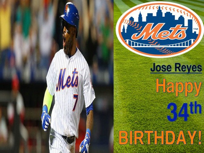 Happy Birthday Jose Reyes! |