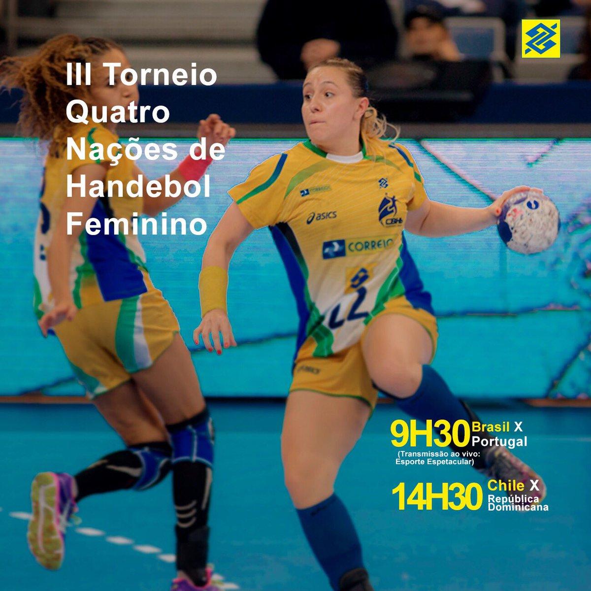 O jogo 🇧🇷x🇵🇹já começou no #torneio4nações.  Alô, #TorcidaBrasil, vamos vibrar pror mais uma vitória.  📺: Esporte Espetacular