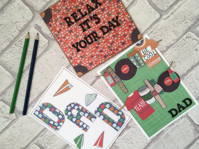 3 Easy Father's Day Card Ideas
