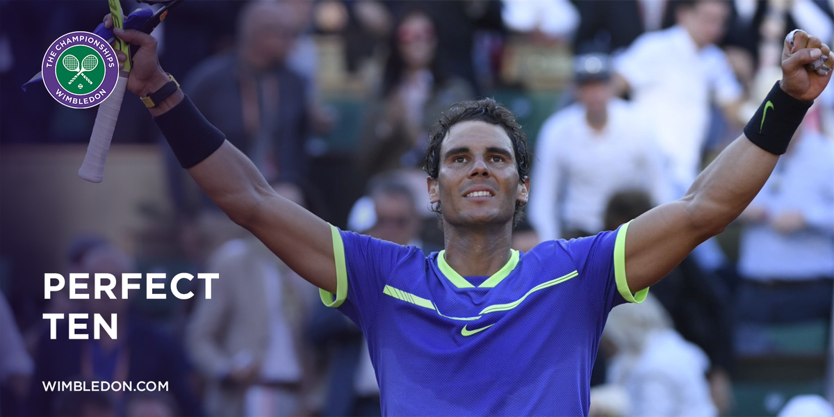 2005 🏆 2006 🏆 2007 🏆 2008 🏆 2010 🏆 2011 🏆 2012 🏆 2013 🏆 2014 🏆 2017 🏆  For an historic 10th time, @RafaelNadal wins the French Open 👏