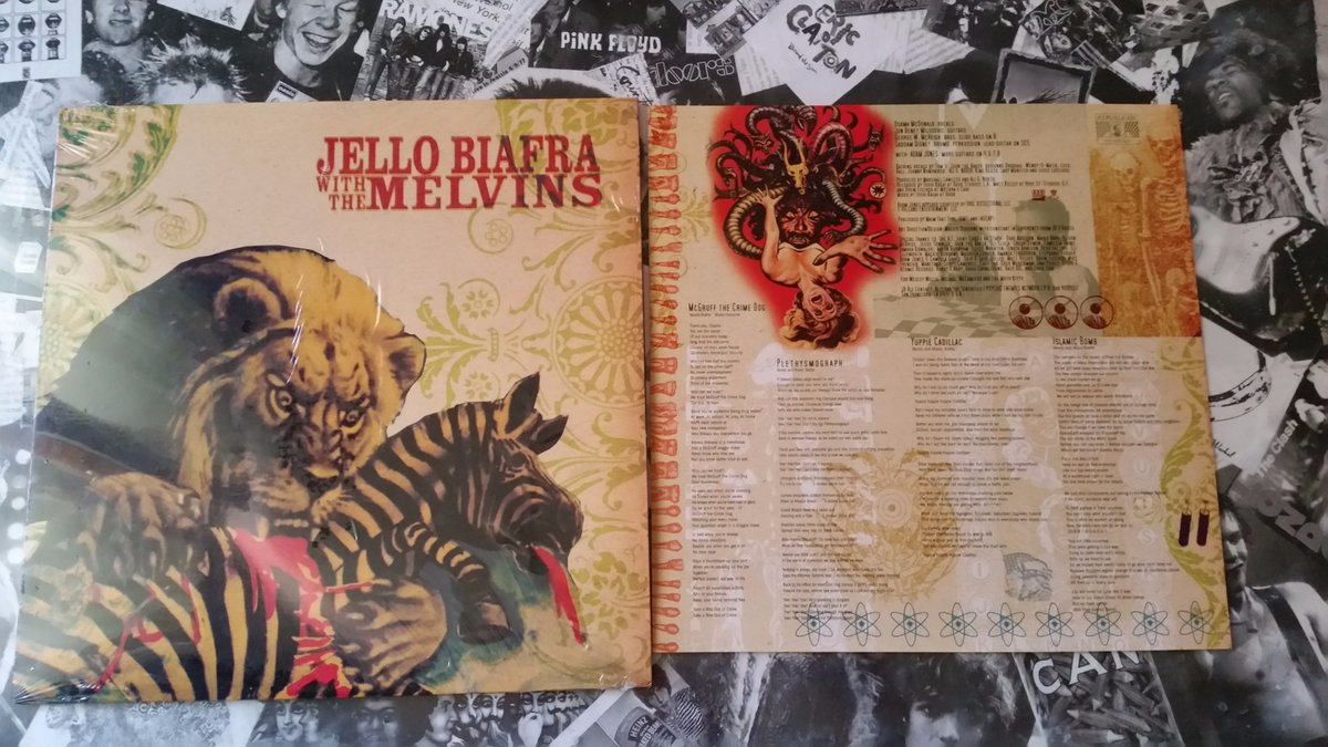 Jello Biafra With The Melvins ~ Never Breathe What You Can&#39;t See ( 2004 @AltTentacles )  #Vinyle #Music #Loud<br>http://pic.twitter.com/3ZBBRVoDyB