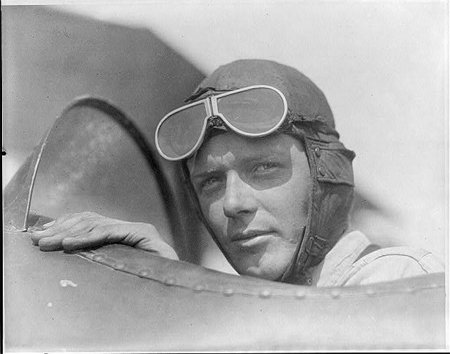 Today in History: Charles Lindbergh - learn about this extraordinary citizen https://t.co/EaOMbchRwT #sschat #edchat #civics #primarysources https://t.co/ZAaa8Xogft