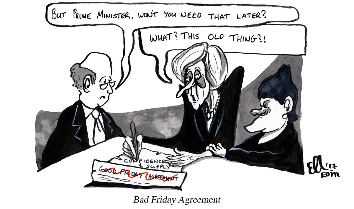 Eoin Kelleher On Twitter Theresa May Puts Good Friday Agreement At