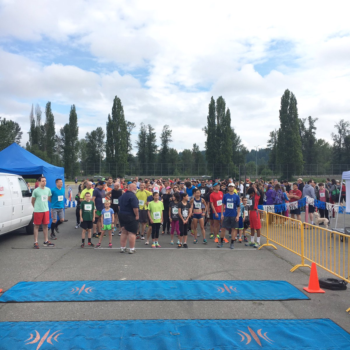 "Big Backyard 5K king county parks 🐿 on twitter: ""big backyard 5k has begun #bby5k… """