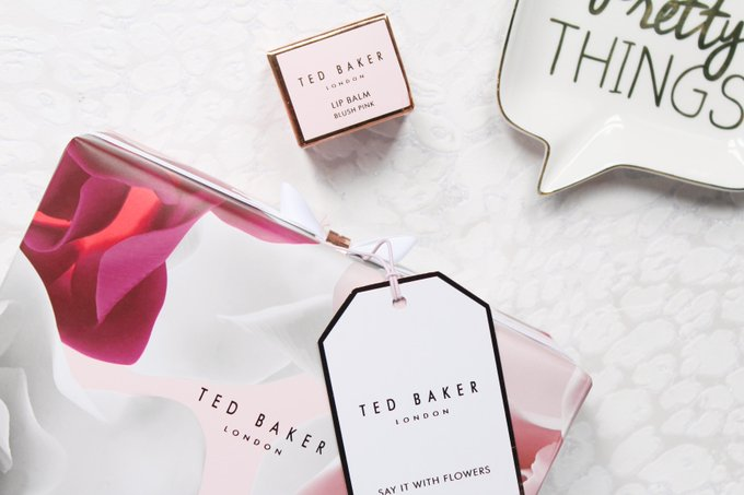 Ted Baker Say It With Flowers Set & Lip Balm