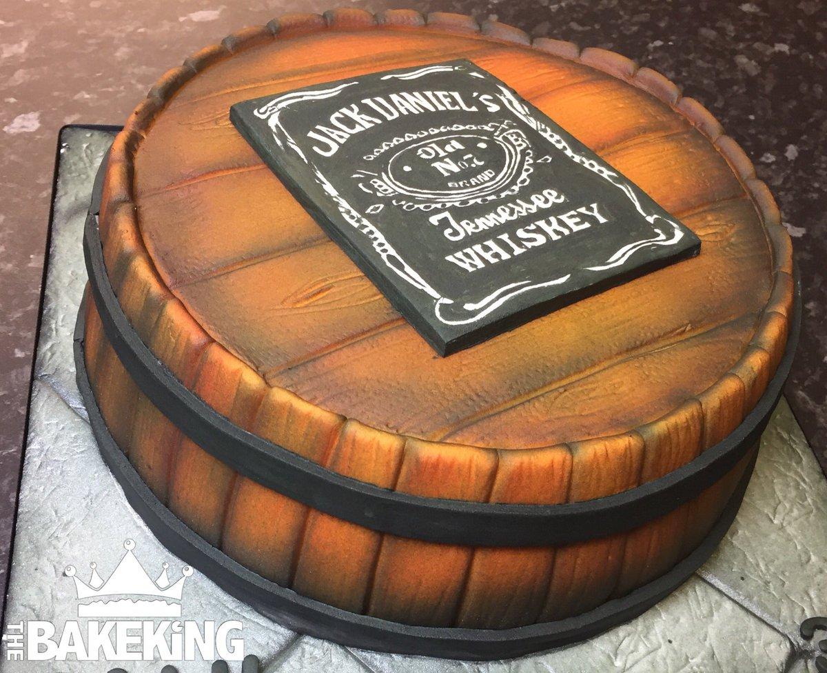 Sensational Twitter The Bakeking Jack Daniels 30Th Birthday Cake Happy Personalised Birthday Cards Sponlily Jamesorg