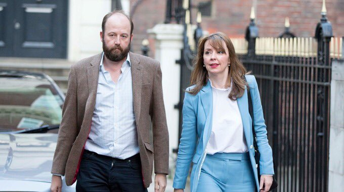 Was trying to think who Nick and Fiona reminded me of... now I'm quite worried for Theresa May https://t.co/UFV9c9fUG2