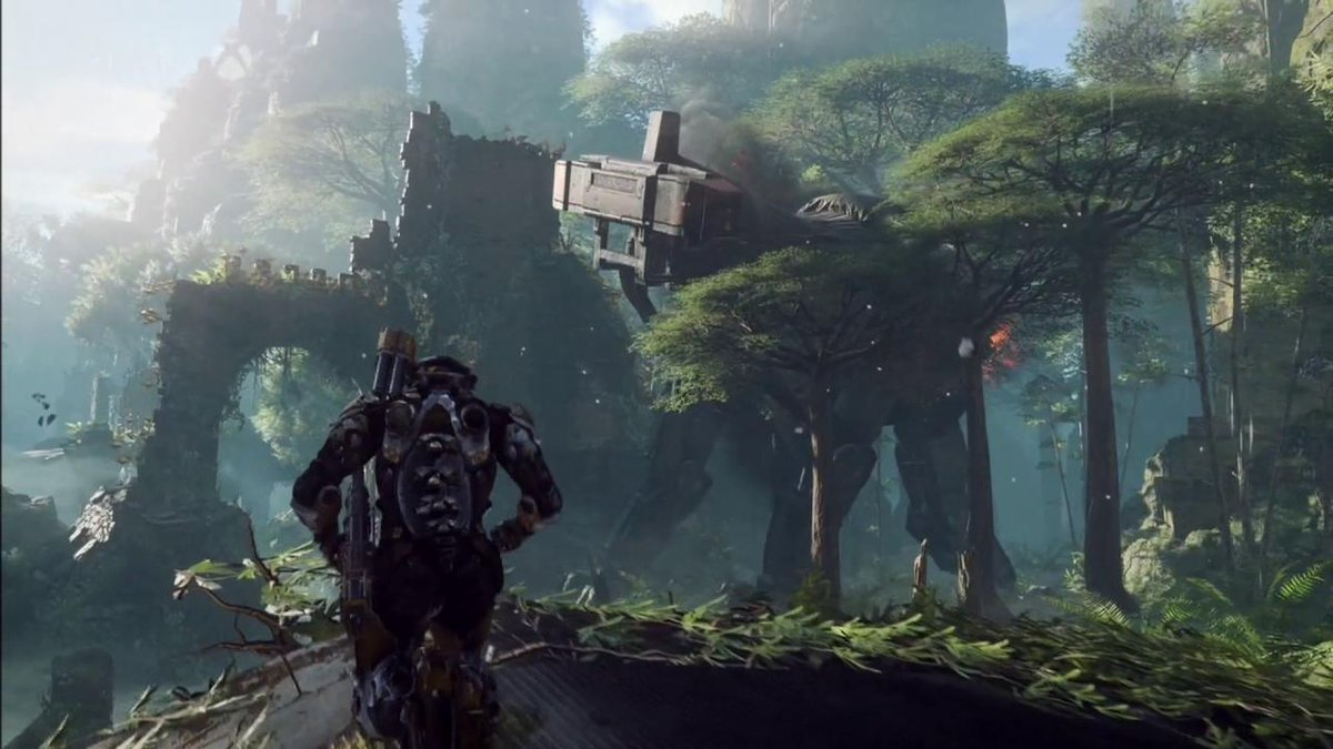 Here's 7 minutes of @BioWare's new game, #Anthem from #XboxE3! #E32017