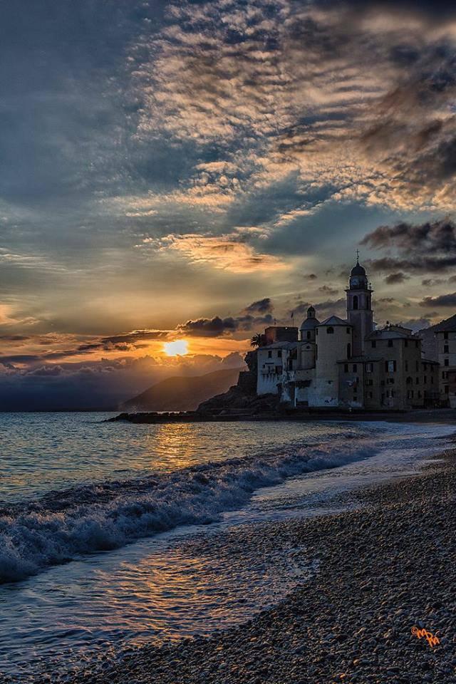 Camogli #Italy Buona serata