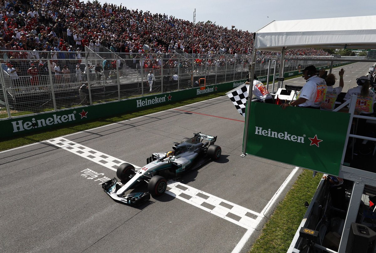 F1 GP Canada 2017: dominio Hamilton a Montreal. Vettel porta a casa punti importanti in classifica