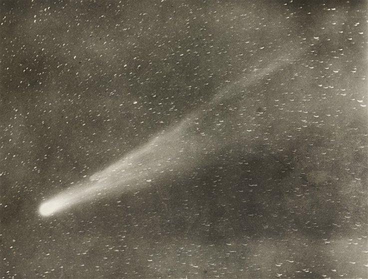 Cometa Halley como observado em 1910 e publicado pela United Press International. https://t.co/3fUE9TQHw1