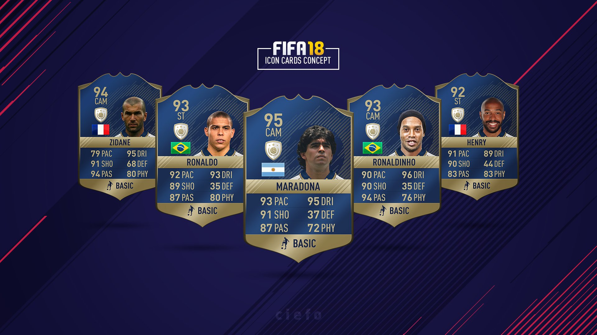 Ciefo On Twitter FIFA18 Icon Cards Concept And Are Appreciated ICONS HD Tco 8Ew6AmryPh