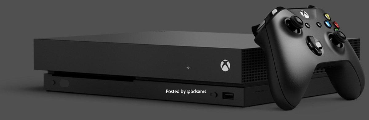 Hello Xbox Scorpio. https://t.co/cbLPb3vTmr