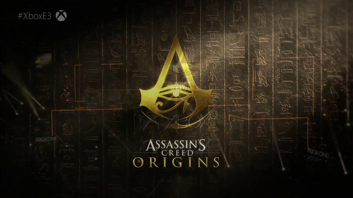 Here's the world premiere of #AssassinsCreedOrigins at #XboxE3! GET HYPED. #E32017