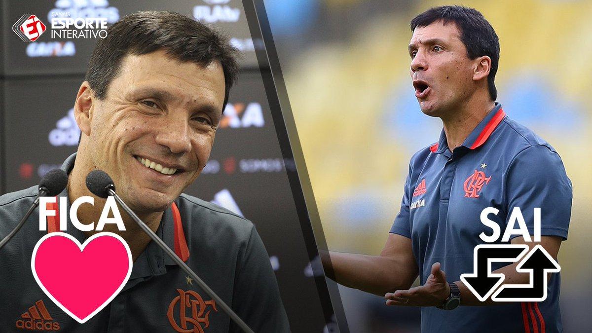 Depois do empate entre @AvaiFC e @Flamengo, qual deveria ser o destino de Zé Ricardo?