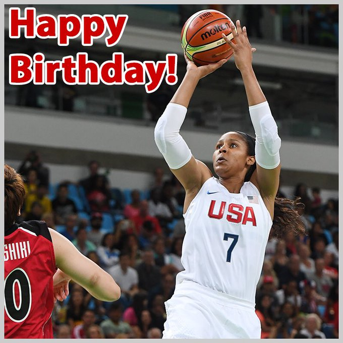 Wishing a happy birthday to Maya Moore, Diana Taurasi and Holly Warlick!