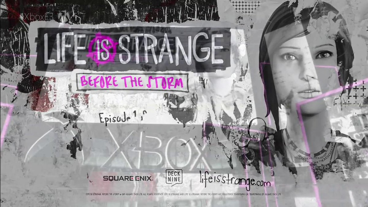 Here's the emotional new trailer for #LifeIsStrange: Before the Storm from #XboxE3! #E32017