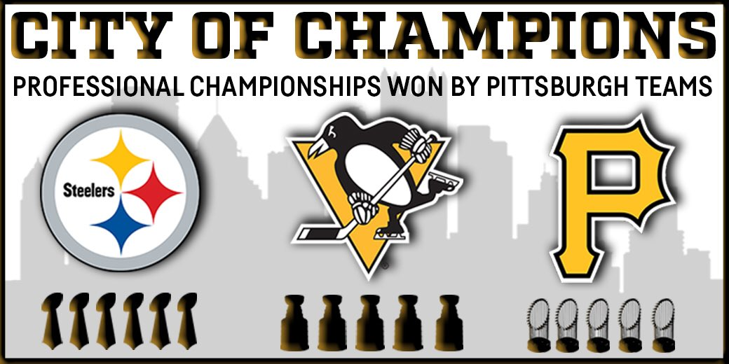 All three Pittsburgh sports teams now have at least five championships! https://t.co/leDVGJKv1M