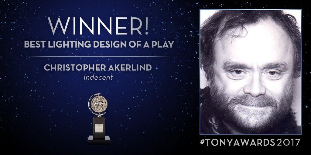 Thumbnail for 2017 Tony Awards: Winner list