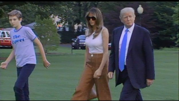 WH confirms the First Lady and Barron have officially moved into the WH. https://t.co/slTnsxoD16