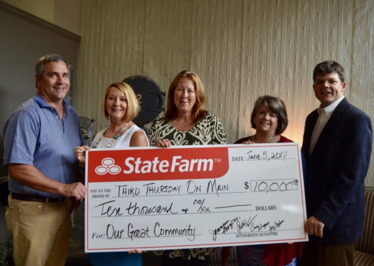 Jeannie Gregory в Twitter Jeannie Gregory State Farm Proud To Be A Sponsor Of The Annual Summer Concert Series In Downtown Gallatin