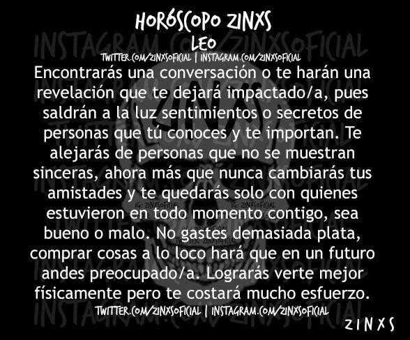 #RicoTrío  #HoróscopoZINXS #Leo Parte I, II & III.