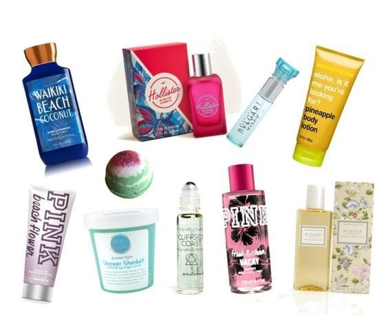 Vacation in a bottle…Pretty summer fragrances