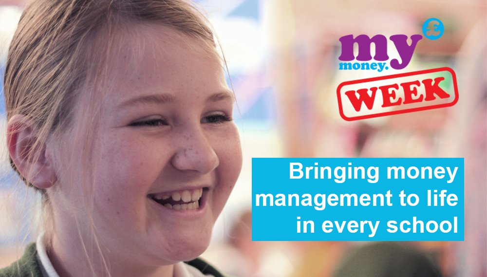 Today is the first day of #MyMoneyWeek & thousands of schools will be teaching vital skills in money management https://t.co/N6cOZaJ2BI https://t.co/B9DMtUZJ7V