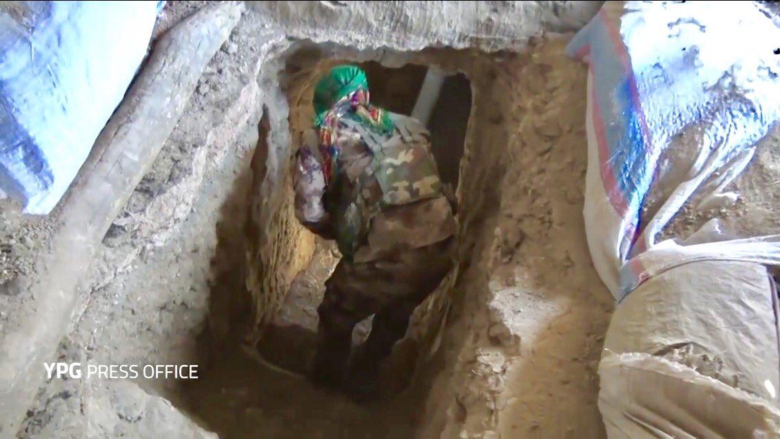 YPG in Raqqa