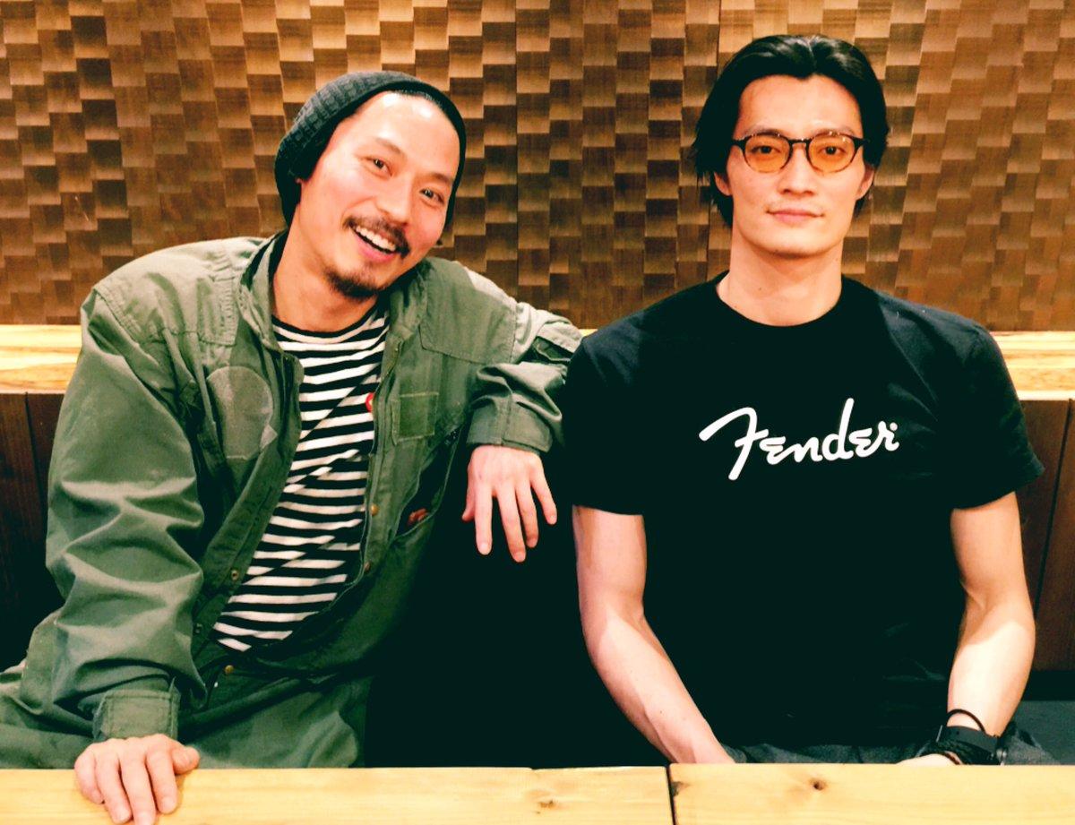 """田邊和也/  على تويتر: """"#坂東工 兄さんと久々に  俳優と同時に、日本大作映画の衣装作ったり、アーティスト活動も認知されてきている多彩スタイルな漢。今は #バチェラージャパン  のMCも。これからの時代の俳優の表現力枯渇しない生き方として ..."""