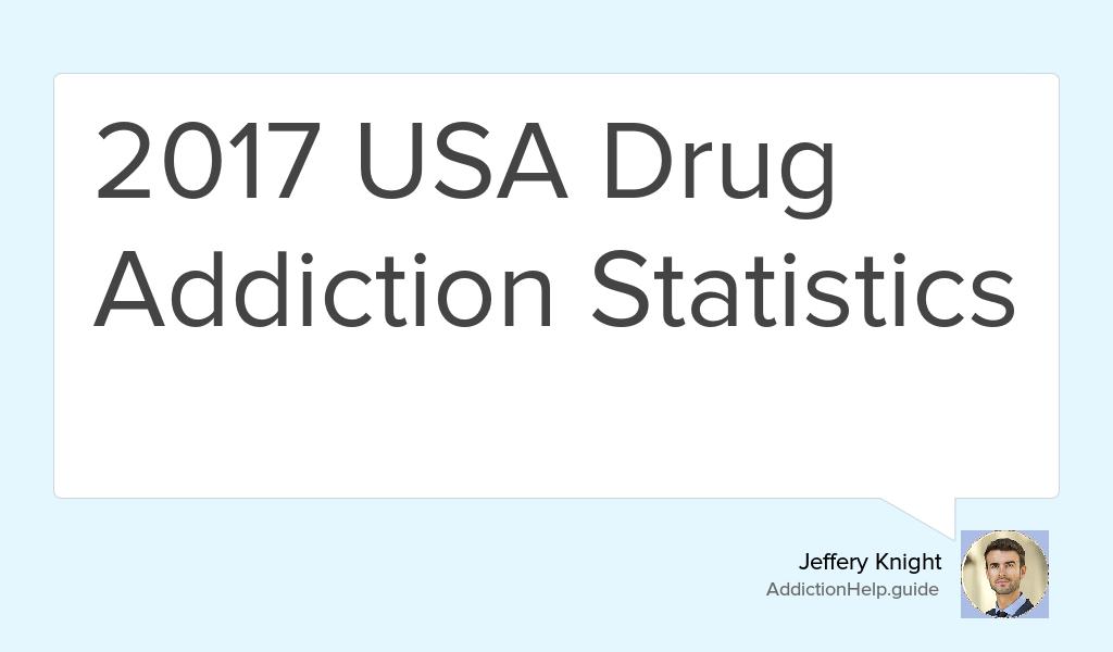 drug addiction statistics