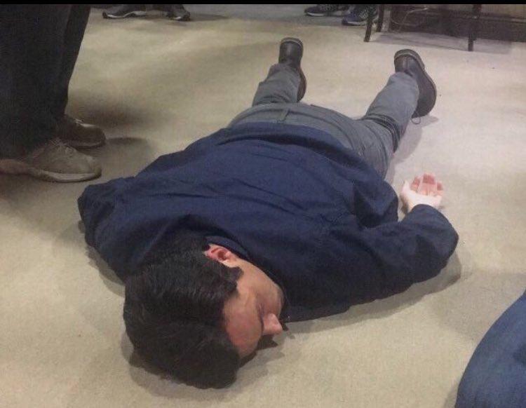 """The floor is Aria""  Ezra: https://t.co/9G7ASeUkoq"