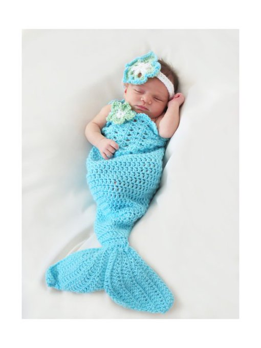 Mermaid Tail Crochet Pattern